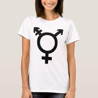 T-shirt Symbole noir de transsexuel