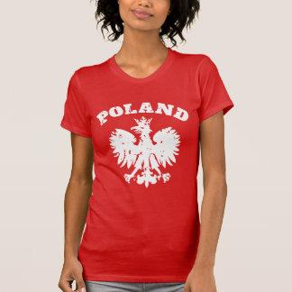 T-shirt Symbole polonais d'Eagle de la fierté des femmes