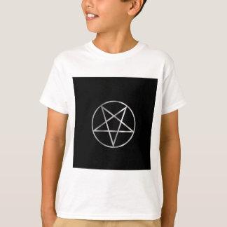 T-shirt Symbole religieux de pentacle de satanisme