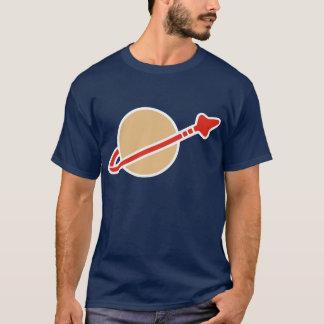 T-shirt Symbole vintage d'astronaute de l'espace de brique