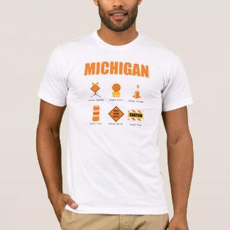 T-shirt Symboles du Michigan