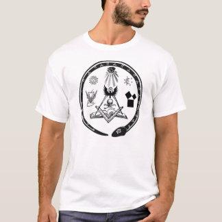 T-shirt Symboles maçonniques