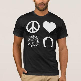 T-shirt Symbologie de PLUR (chemise foncée)