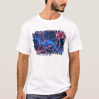 T-shirt Synapses de nerf, illustration d'ordinateur