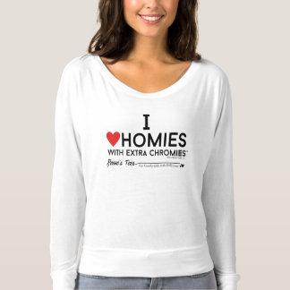 T-shirt Syndrome de Down - chromiesTM des homies w/extra