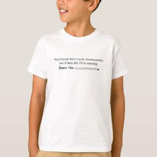 T-shirt Syndrome de Down :  Vrais amis
