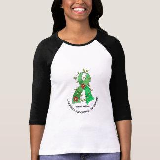T-shirt Syndrome de la Tourette du ruban 1 de fleur