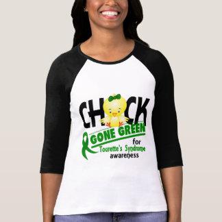 T-shirt Syndrome de la Tourette du vert allé par poussin 2
