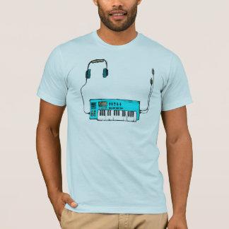 T-shirt Synth (Aqua)