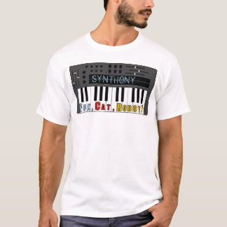 T-shirt Synth-ony