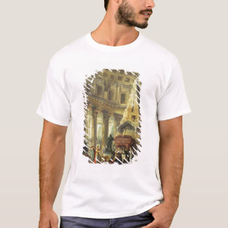 T-shirt T28516 Alexandre le grand visitant la tombe du