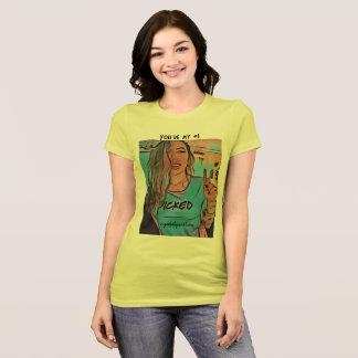 T-shirt T2 de roman de bébé de sucre