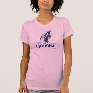 T-shirt T classiques de dames (je pense, par conséquent