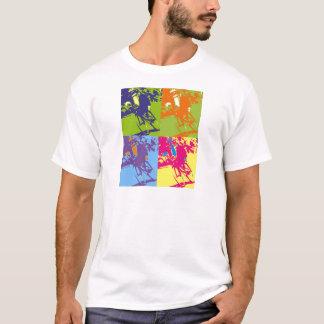 T-shirt T couché