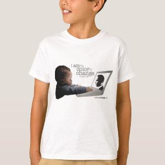 T-shirt T de base de l'enfant