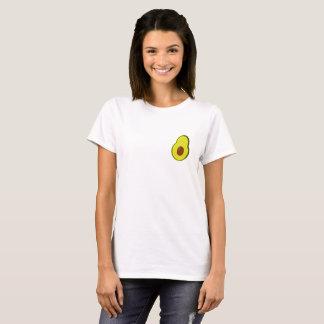 T-shirt T de Frocket des femmes mignonnes d'avocat