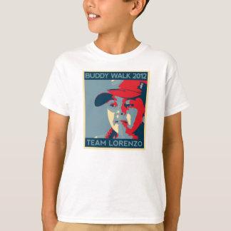 T-shirt T de l'enfant de Lorenzo d'équipe
