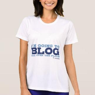 T-shirt T de Micro-Fibre (blog partout)