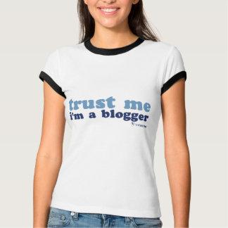 T-shirt T de sonnerie de mélange (faites- confiancemoi)