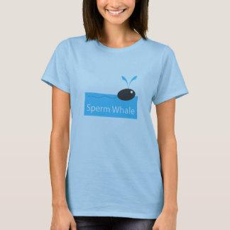 T-shirt T des femmes de cachalot