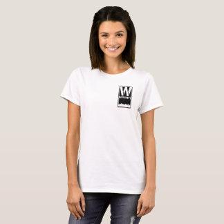 T-shirt T des femmes de sécurité de salle
