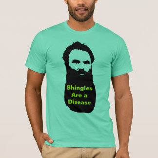 T-shirt T des hommes de bardeaux