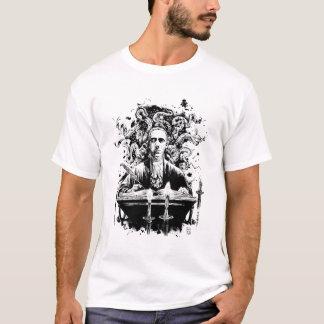 T-shirt T des hommes de Lovecraft (couleurs claires