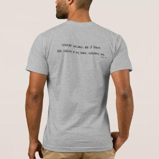 T-shirt T d'espoir des hommes adoptifs d'amour