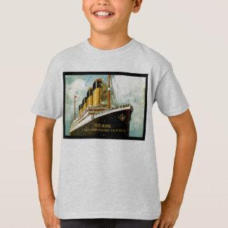 T-shirt T du 100th enfant d'anniversaire de RMS Titanic