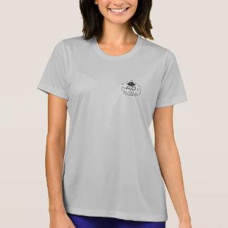 T-shirt T du logo des femmes les 40 premiers milles