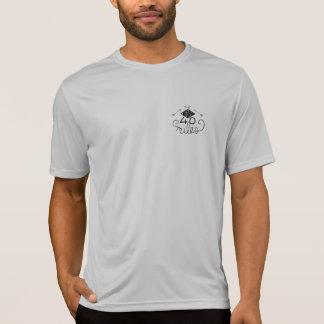 T-shirt T du logo des hommes les 40 premiers milles
