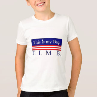 T-shirt T.I.M.B. Chemise #1 d'enfants