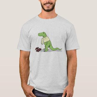 T-shirt T.rex déteste de longues douilles