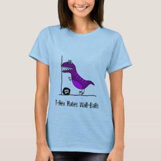 T-shirt T-Rex déteste Wallballs