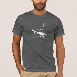 T-shirt T-Rex était un chasseur en forme d'étoile terrible