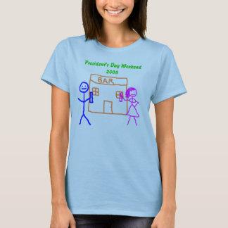 T-shirt T-shirt, Day Weekend 2008 du Président - customisé