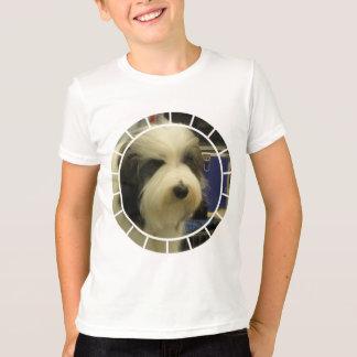 T-shirt T=Shirt des vieux enfants anglais de chien de