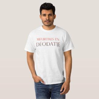 T-shirt T Shirt Homme Meurtres en Déodatie
