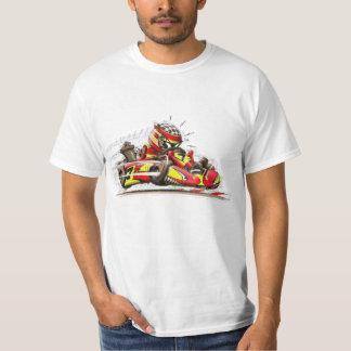 T-shirt T shirt karting