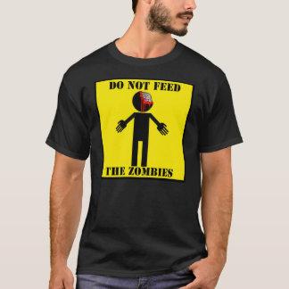 """T-shirt """"T-shirt N'ALIMENTEZ PAS ZOMBIS"""""""