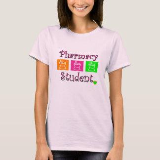T-shirt T-shirt, pilon et mortier d'étudiant de pharmacie