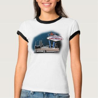 T-shirt T-shirt, rétro voiture, Las Vegas, Cadillac