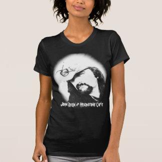 T-shirt T-shirtzazzle, règne et pierre tombale Caf'e de