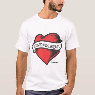 T-shirt t Ultra-doux de mode (tatouage de LiveJournal)