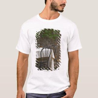 T-shirt table romantique pour deux