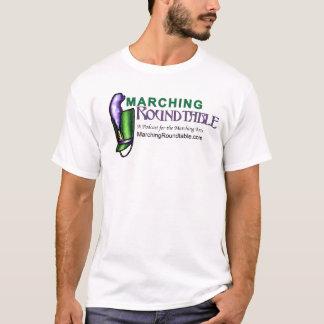 T-shirt Table ronde de marche T de base