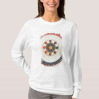 T-shirt Tableau des mouvements de la lune dans la relation