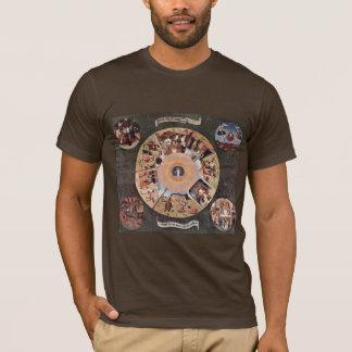 T-shirt Tableau des péchés mortels., par Hieronymus Bosch