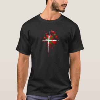 T-shirt tâche drapeau Basque Euskadi