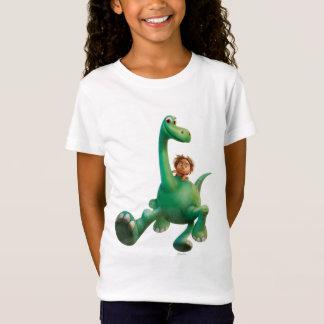 T-Shirt Tache et Arlo marchant par la forêt